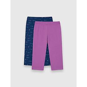 combo 2 quần legging bé gái 1SA21S002 Canifa