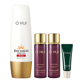 Bộ Chống Nắng 4 Món OHUI Day Shield Perfect Sun Red Special Set (Age Recovery)_FI50299474