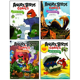 Bộ Truyện Tranh Angry Bird Comic (Bộ 4 Cuốn)
