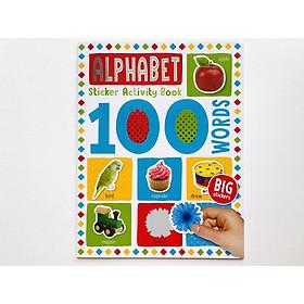 100 Alphabet Sticker Activity Book - Miếng Chủ Đề 100 Chữ Cái Đầu Tiên Cho Bé.