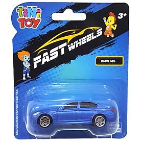 Đồ Chơi Xe Tốc Độ FastWheels 3 Inch - 342000S - BMW M5 - Màu Xanh