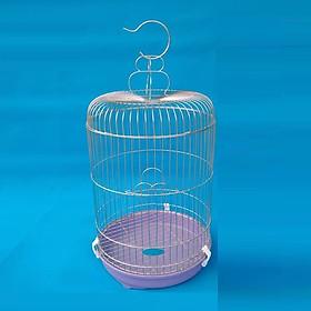 Lồng chim chào mào bằng inox chồng gỉ (rộng 30cm cao 65cm) lồng chim chích chòe