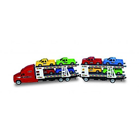Xe vận chuyển xe hơi (Đỏ) VECTO 666-65J/RD