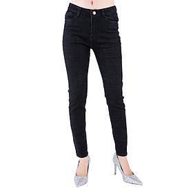 Quần Jeans Nữ Lưng Cao JNT002 - Muối Tiêu