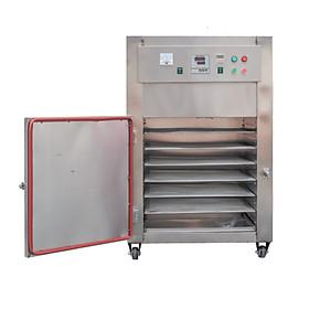 Máy sấy công nghiệp 6 khay vuông GE60. Sấy được mọi loại thực phẩm, số lượng lớn, phù hợp hộ kinh doanh, nhà hàng, sản xuất công nghiệp. Hàng nhập khẩu chính hãng SGE Thailand