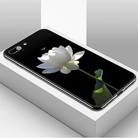 Ốp điện thoại dành cho máy iPhone 7 Plus / 8 Plus - Sen trắng MS ABPHA002
