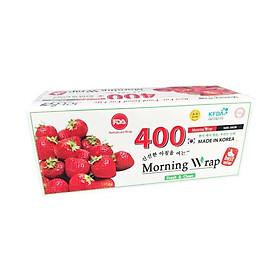 Hình đại diện sản phẩm Màng bọc thực phẩm PVC Morning Wrap Dâu 400 (30cmx250m)