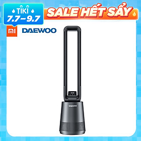 Quạt không lá Xiaomi DAEWOO F10/F10 RRO với khả năng lọc không khí bằng tia UV-C Tiệt trùng không có lỗ Điều khiển cảm ứng độ ồn thấp Không có ba chế độ