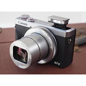 Máy ảnh Canon PowerShot G7 X Mark III (Màu Bạc) - Hàng Chính Hãng