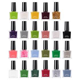 23PCS/Set Gel Nail Polish Set Top Coat 23 Colors Long Lasting Nail Polish Kit, Random Color