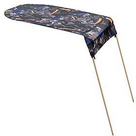 Kayak Boat Canoe Sun Shade Canopy with Storage Bag for Single Person