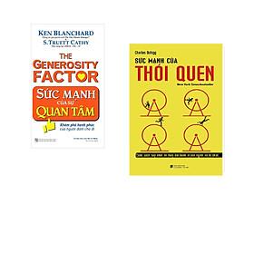 Combo 2 cuốn sách: Sức Mạnh Của Sự Quan Tâm + Sức Mạnh Của Thói Quen