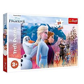 Tranh ghép hình Trefl 14298 - 24 mảnh Chủ đề Disney Frozen 2