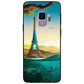 Ốp lưng in cho Samsung S9 Mẫu Tháp Pháp