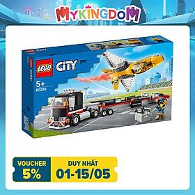 Đồ chơi LEGO City Xe Vận Chuyển Máy Bay Phản Lực 60289