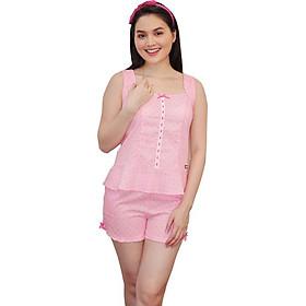 Đồ mặc nhà Bộ short nữ Tvm Luxury Homewear B363
