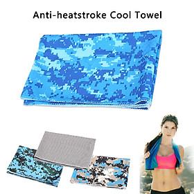 Ice Scarf Sports Towel Practical 4color Polyester Camping Golf-1