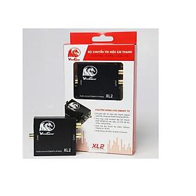 Bộ chuyển đổi âm thanh Quang sang AV( Từ Tivi sang Loa và Amly) CHính hãng Vinagear XL2