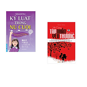 Combo 2 cuốn sách: Kỷ Luật Trong Nụ Cười + Vô Cùng Tàn Nhẫn Vô Cùng Yêu Thương Tập 2