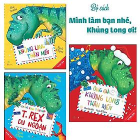 Sách Combo Khủng Long Thân Mến (3 Tập) - Tặng kèm thiệp Giáng sinh dễ thương