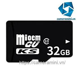 Thẻ nhớ Micro SD 32gb dùng cho điện thoại, máy ảnh, camera - Class 10 tốc độ cao (10mb/s)