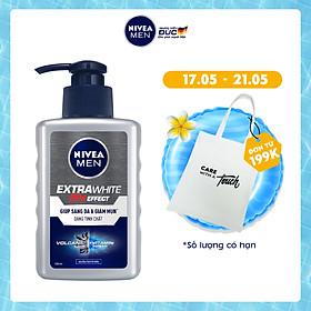 Sữa Rửa Mặt NIVEA MEN Tạo Bọt Giúp Sáng Da Vượt Trội (100ml) - 83956