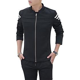 Áo Khoác Kaki Nam Giả Vest Body Titishop AKN346 - Đen