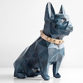 Cute Dog Piggy Bank Bulldog Money Saving Box Pot Property Coins Storage Bank Home Decoration, Boys Girls Gift Present