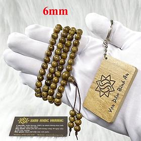 [TẶNG 1 MÓC KHÓA SƠN MỘC HƯƠNG] Vòng tay trầm hương phong thủy 108 hạt nam nữ Sơn Mộc Hương từ trầm tốc tự nhiên giúp mang lại may mắn, bình an và tài lộc cho người đeo