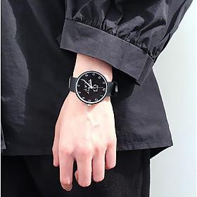 Đồng hồ nữ Lovely Cat dây cao su silicon thời trang Hàn Quốc