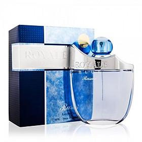 Tinh dầu nước hoa nam Dubai Rasasi Royale Blue Pour Homme Eau De Parfum 75 ML