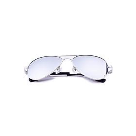 Kính mắt phân cực Unisex PANTINO nhập khẩu Hàn Quốc chống tia UV, chống chói, Mã U3025 - Silver NEW ARRIVAL