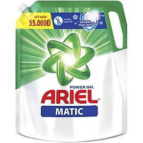 Combo 2 Túi Nước Giặt Ariel Matic Đậm Đặc (2.3kg/ Túi)