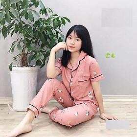 Đồ bộ mặc nhà nhiều màu hàng đẹp - MSP202101272 - Giao màu ngẫu nhiên - Freesize