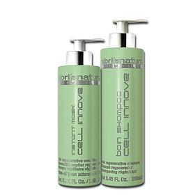 Bộ dầu gội và xả trẻ hóa, tái tạo cấu trúc tóc Abril et Nature Stem Cell Bain Shampoo Cell Innove-0