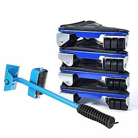 Bộ dụng cụ di chuyển đô đạc nặng thông minh chuyên dụng di chuyển đồ nội thất, bàn ghế giường tủ - Màu ngẫu nhiên