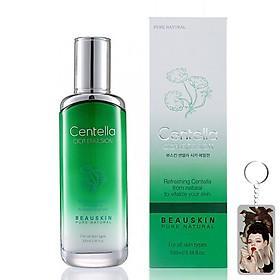 Sữa dưỡng trắng da chống lão hóa Beauskin Centella Cica Emulsion Hàn Quốc 100ml + Móc khóa