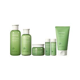 innisfree new green tea essence moisturizing balance water lotion set 3 piece set