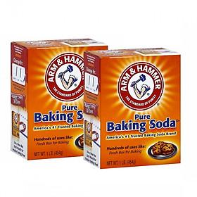 Combo 2 hộp baking soda đa công dụng nhập khẩu Mỹ