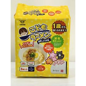 Mì Ramen Trẻ em  Nước Tương Hải Sản – Kids Seafood Soy Sauce Noodle -Nhật Bản