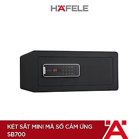 Két sắt mini Hafele mã số cảm ứng SB700/ 836.28.380 - 836.28.380 (Hàng chính hãng)