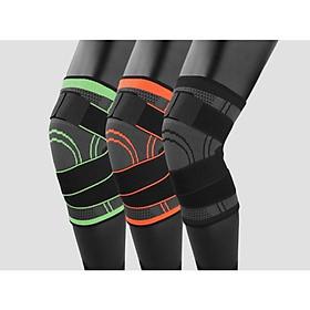 Băng đai bảo vệ giảm áp lực lên xương đầu gối khi tập Gym AK_24-4