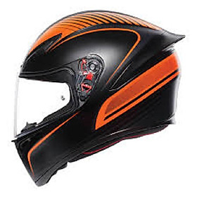 Nón bảo hiểm  AGV K1  Warmup Matt Black/Orange