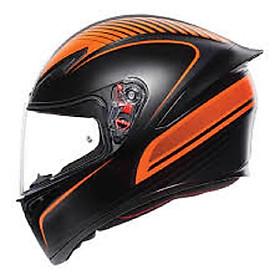 Nón bảo hiểm  AGV K1  Warmup Matt Black/Orange