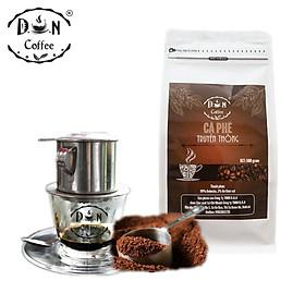 CÀ PHÊ RANG XAY D.O.N COFFEE TRUYỀN THỐNG  500gram (Bột)