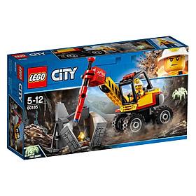 """Mô hình Lego City - Máy Đục Đá 60185 giá chỉ còn <strong class=""""price"""">390.100đ</strong>"""