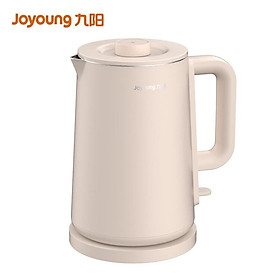 Joyoung (Joyoung) hot water kettle kettle electric kettle 1.7L inside and outside double steel seamless double layer anti-scalding 304 stainless steel separable kettle lid K17FD-W6152