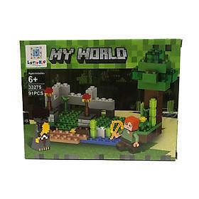 Bộ Xếp Hình - My World - 33275 - LK52 - Mẫu 1