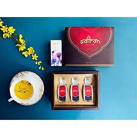 Set Nhụy hoa Nghệ tây Saffron Salam 3gr tặng kèm 1gr Salam