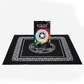 Combo Bộ Bài Bói The Wild Unknown Tarot Cao Cấp và Khăn Trải Bàn Tarot